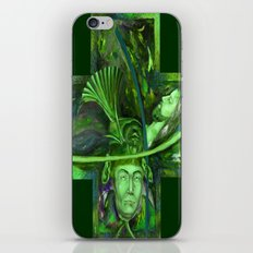 Religion green iPhone & iPod Skin