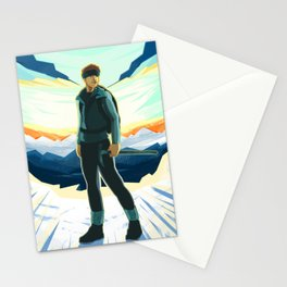 Mountain Climber Stationery Cards
