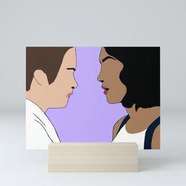 Selfless and Selfish Mini Art Print