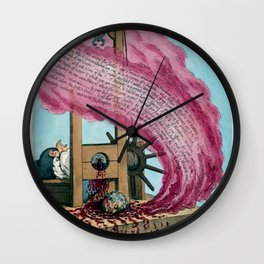 French Revolution Guillotine Depiction of the Execution of Louis XVI  Wall Clock