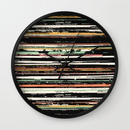 Recordsss Wall Clock