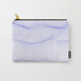 Wavy lines Carry-All Pouch