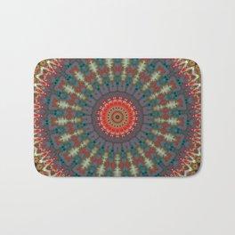 Basal Color Mandala 10 Bath Mat