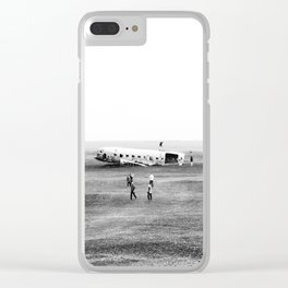 Iceland Landscape 002 Clear iPhone Case