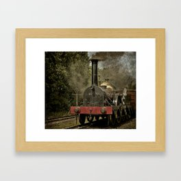 "GWR Broad Gauge ""Firefly"" Framed Art Print"
