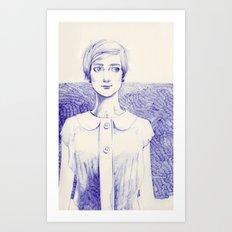 Short Lines Art Print