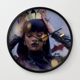 Rihanna_Crown of Thorns Wall Clock