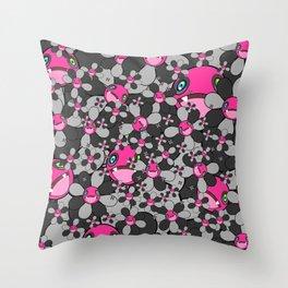 HW Flower Throw Pillow