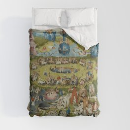 Hieronymus Bosch - The Garden of Earthly Delights Comforters