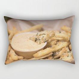 A Side of Fries Rectangular Pillow