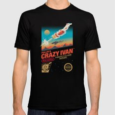 Crazy Ivan Mens Fitted Tee LARGE Black