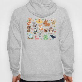 Woodland Animal Hoody