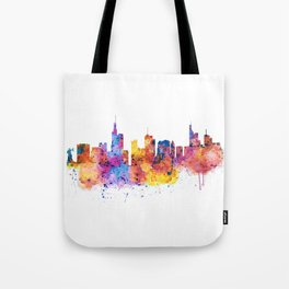 Frankfurt Skyline Tote Bag