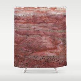 Desert Striations I Shower Curtain