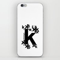 kafka iPhone & iPod Skins featuring KAFKAESQUE by THE USUAL DESIGNERS