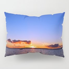 Sunset on the River in Georgetown Pillow Sham
