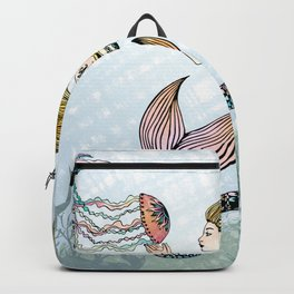 Jellyfish and Mermaid Backpack