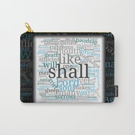 Isaiah 53 Word Cloud Carry-All Pouch