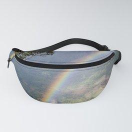 Rainbow Through the Rain: Kauai, Hawaii Fanny Pack