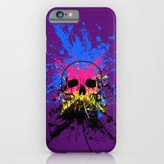 Skull splatter iPhone 6s Slim Case