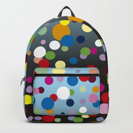 Multi-colored bubbles Backpack