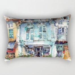 Clive Street, Little India, Singapore Rectangular Pillow