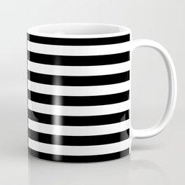 VINTAGE STRIPES (BLACK-WHITE) Coffee Mug
