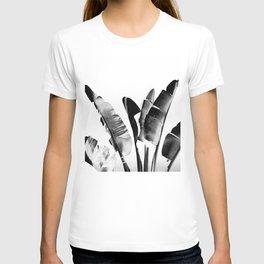 Traveler palm - bw T-shirt