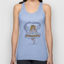 Smoking Cherub Unisex Tank Top
