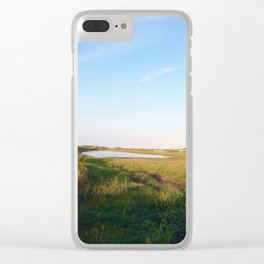 """Afternoon at the Marsh, Tybee Island, Georgia"" by Simple Stylings Clear iPhone Case"