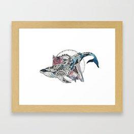 Holy Humpback Framed Art Print