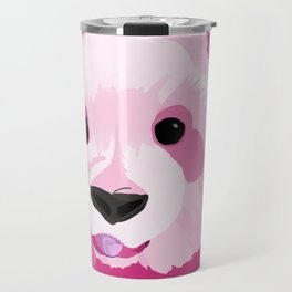 Pink Lemonade Panda Travel Mug