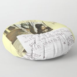 kindness and respect Floor Pillow