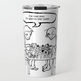 Necromania, chess Travel Mug