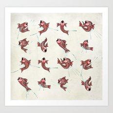Pescado Art Print
