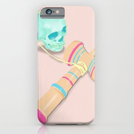 SKULL KENDAMA iPhone Case