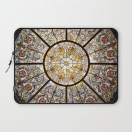 Stained glass window glass ceiling Laptop Sleeve