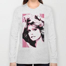 Farrah Fawcett | Pop Art Long Sleeve T-shirt