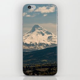 Mountain Valley Pacific Northwest - Nature Photography iPhone Skin