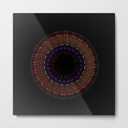 Art and creation of Mandala Metal Print