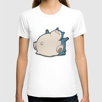 snorlax T-shirts featuring Pokémon - Number 143 by Aniforce