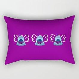 Bell on Purple Rectangular Pillow