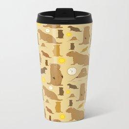 Groundhogs Metal Travel Mug