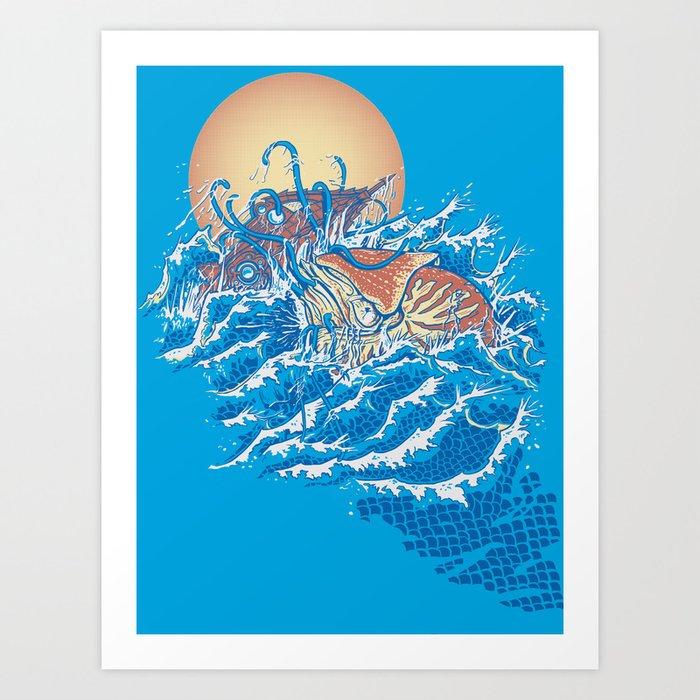 The Lost Adventures of Captain Nemo Art Print
