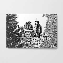 Duomo of Barga Metal Print