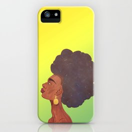 I Am Beauty iPhone Case