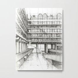 Barbican London 4 Metal Print