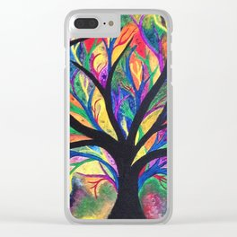 Nerve Endings Clear iPhone Case