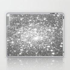 Silver Gray Laptop & iPad Skin