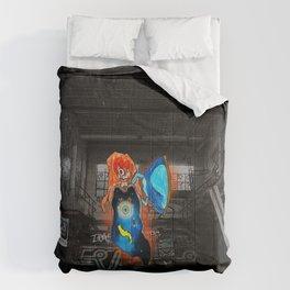 Commander's One Winged Angel Comforters
